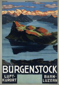 Switzerland, Burgenstock, Luft-Kurort and Bahn Luzern